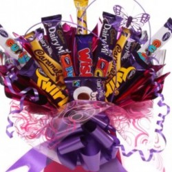 Chocolate Bar Bouquet For Her