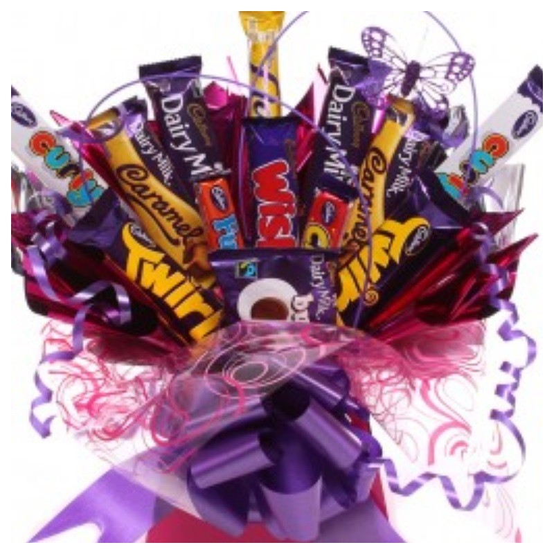 Cadbury S Chocolate Bar Bouquet For Her Chocolate Bar