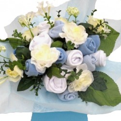 Large Baby Bouquet For A Baby Boy.