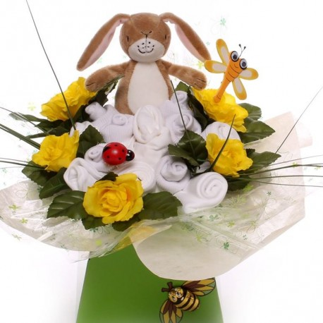 Guess How Much I Love You Neutral Baby Bouquet.