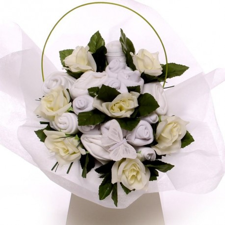 Large Neutral Baby Bouquet Ideal New Baby Gift.
