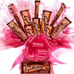 Galaxy Chocolate Bouquet For Her.