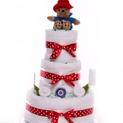 Nappy Cake Paddington Bear Unisex.