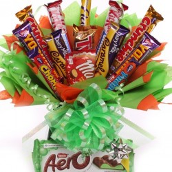 Chocolate Bouquet With Mint Aero.