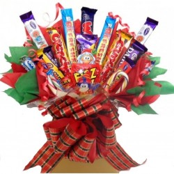 A Variety Of Chocolates In A Bouquet.