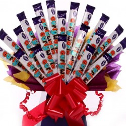 Curlywurly Chocolate Bar Bouquet.