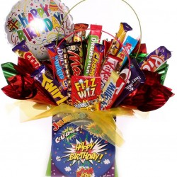 Happy Birthday Chocolate Bouquet Gift.