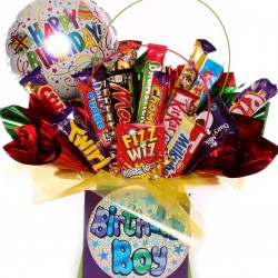 Birthday Boy Chocolate Bouquet.