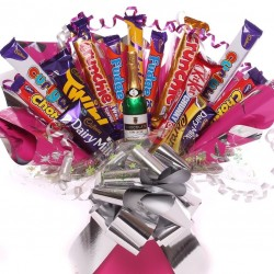 Celebration Chocolate Bar Bouquet For Her.