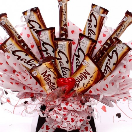 Galaxy Love Chocolate Bouquet.