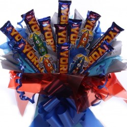 Yorkie Chocolate Bar Bouquet.