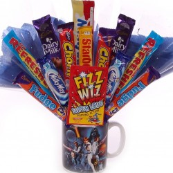 Chocolate Bouquet In a Star Wars Mug.