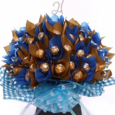21st Chocolate Bouquet Ferrero Rocher For Him.