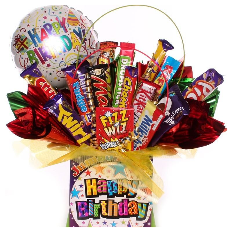 Birthday Chocolate Bouquet With Balloon