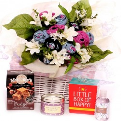 Sock Bouquet Gift Basket