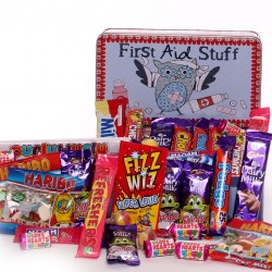 Get Well Gift - First Aid Stuff Sweetie Tin.