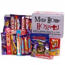 Mini Home Hospital Tin - Filled With Get Well Sweets.