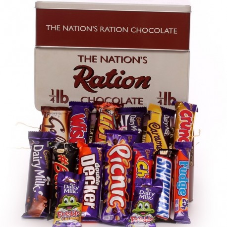 Chocolate Ration Tin  - The Nation's Ration Chocolate