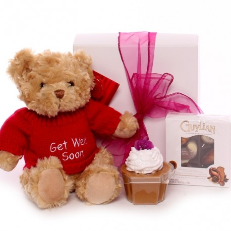 Get Well Giift Box - Get Well Gift For Her.