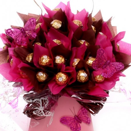 Stunning Ferrero Rocher Chocolate Bouquet From Our Luxury Range.