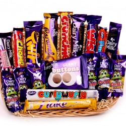 Gift Tray Of Cadbury's Chocolate.