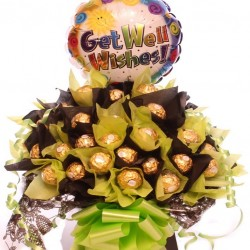 Get Well Ferrero Rocher Bouquet.