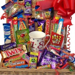 18th Birthday Sweet and Chocolate Hamper