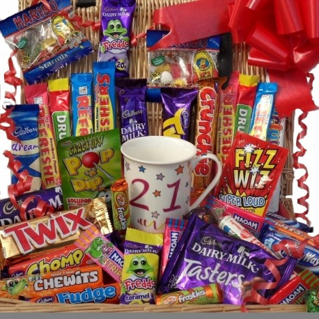 21st  chocolate and sweet hamper