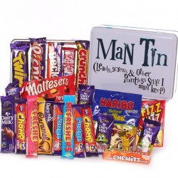 Man Tin - Sweet Tin Gift