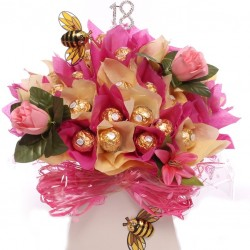 18th Brithday Ferrero Rocher Chocolate Bouquet Luxury