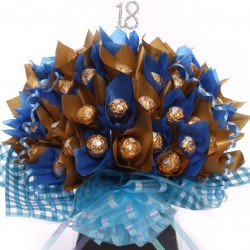 18th Birthday Chocolate Bouquet Ferrero Rocher For Him.