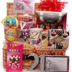 21st Birthday Luxury Gift Hamper.