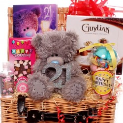 21st Me to You Bear hamper gift.