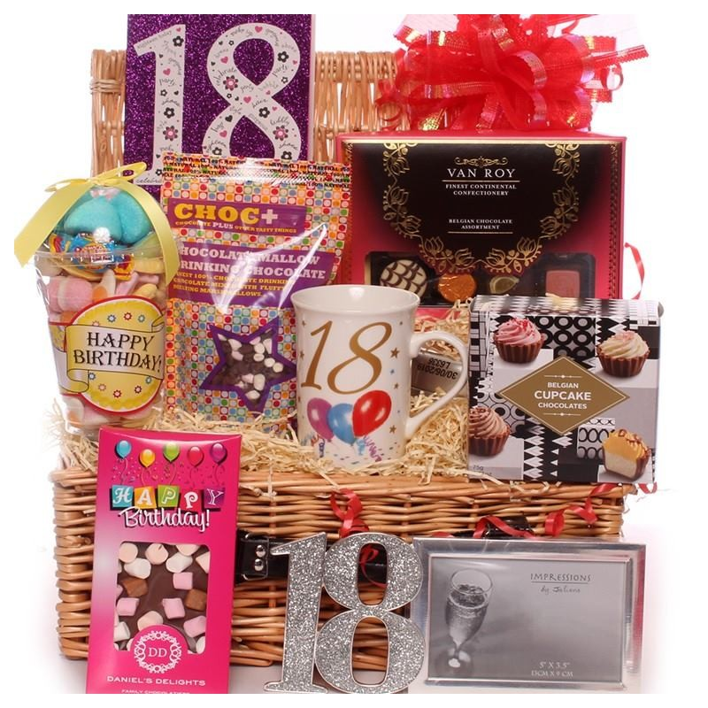 18th Birthday Hamper Hamper 18th Birthday Hamper 18th