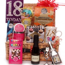 18th Birthday Hamper With Prosecco.