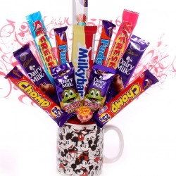 Disney Mickey Mouse Mug Chocolate Bouquet.