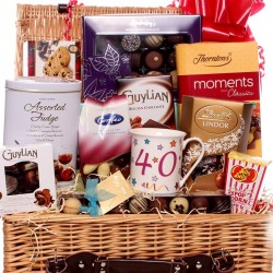 40th Birthday Chocolate Hamper