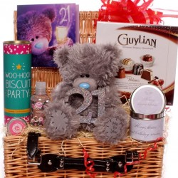 21st  Me to You Bear Hamper With 21st Birthday Gifts