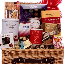 21st Chocolate Hamper - 21st and awesome.