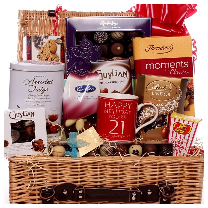 21st And Awesome Food Wine Gift Hamper