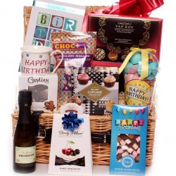 Large Birthday Hamper For Him.