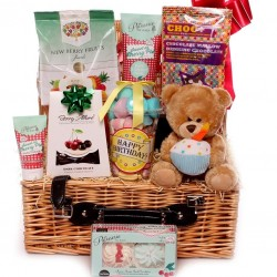 Birthday Hamper With Chocolates and Pamper Treats.