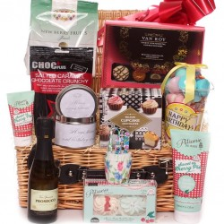 Birthday Hamper Gift Basket For Her.