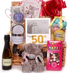 50th Birthday Me to You Bear Hamper.
