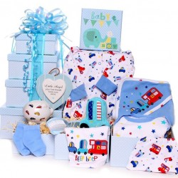 Tower Gift Hamper Beep Beep Baby Boy