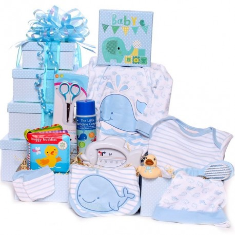 Bath Time Baby Tower Gift Hamper.