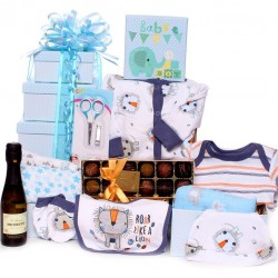 Prosecco and Truffles Baby Tower Gift Hamper.