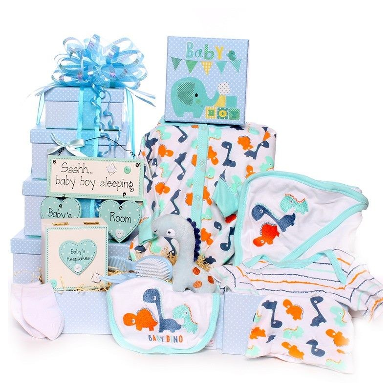 Baby Gifts Next Day Delivery Uk : Tower gift hamper baby boy uk