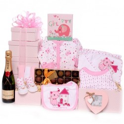 Baby Girl Hamper New Baby Gift Idea.