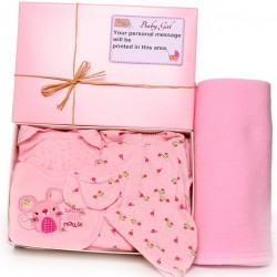 Personalised Hamper Gift Box Baby Girl